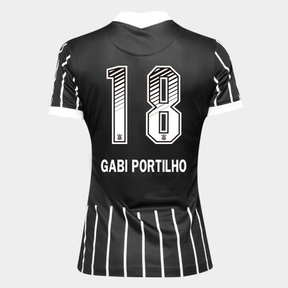 Camisa Corinthians II 20/21 - Gabi Portilho N° 18 - Torcedor Nike Feminina