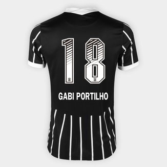 Camisa Corinthians II 20/21 - Gabi Portilho N° 18 - Torcedor Nike Masculina