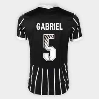 Camisa Corinthians II 20/21 - Gabriel Nº 5 - Torcedor Nike Masculina