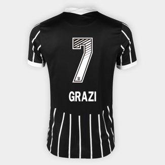 Camisa Corinthians II 20/21 - Grazi N° 7 - Torcedor Nike Masculina