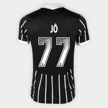 Camisa Corinthians II 20/21 - Jô Nº 77 - Torcedor Nike Masculina