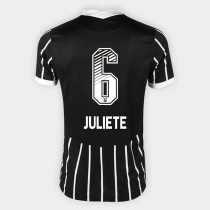 Camisa Corinthians II 20/21 - Juliete N° 6 - Torcedor Nike Masculina