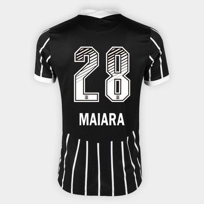 Camisa Corinthians II 20/21 - Maiara N° 28 - Torcedor Nike Masculina