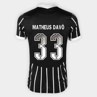 Camisa Corinthians II 20/21 - Matheus Davó Nº 33 - Torcedor Nike Masculina