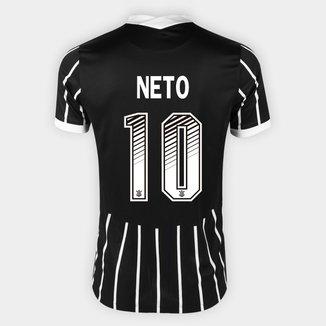 Camisa Corinthians II 20/21 - Neto Nº 10 - Torcedor Nike Masculina