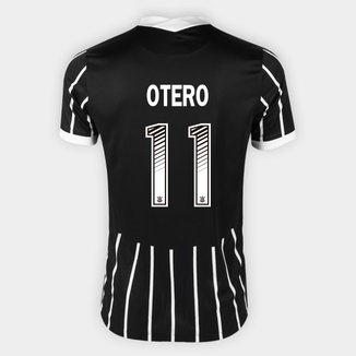 Camisa Corinthians II 20/21 Otero Nº 11 Torcedor Nike Masculina