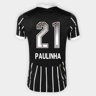 Camisa Corinthians II 20/21 - Paulinha N° 21 - Torcedor Nike Masculina