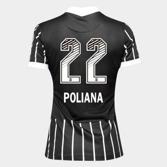 Camisa Corinthians II 20/21 - Poliana N° 22 - Torcedor Nike Feminina