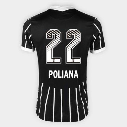 Camisa Corinthians II 20/21 - Poliana N° 22 - Torcedor Nike Masculina