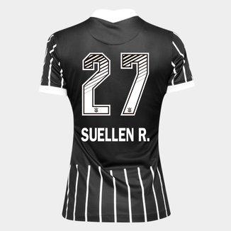 Camisa Corinthians II 20/21 - Suellen R. N° 27 - Torcedor Nike Feminina