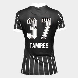 Camisa Corinthians II 20/21 - Tamires N° 37 - Torcedor Nike Feminina