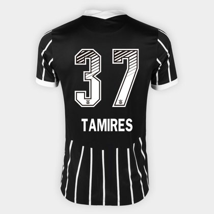 Camisa Corinthians II 20/21 - Tamires N° 37 - Torcedor Nike Masculina