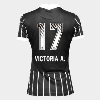 Camisa Corinthians II 20/21 - Victoria A. N° 17 - Torcedor Nike Feminina