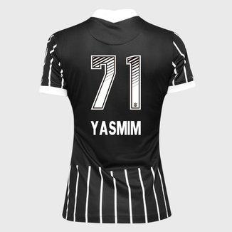 Camisa Corinthians II 20/21 Yasmim N° 71 Torcedor Nike Feminina