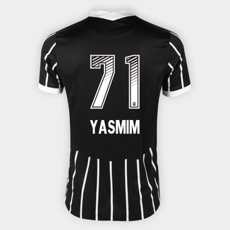 Camisa Corinthians II 20/21 Yasmim N° 71 Torcedor Nike Masculina