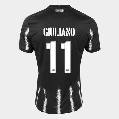Camisa Corinthians II 21/22 Giuliano n° 11 Torcedor Nike Masculina