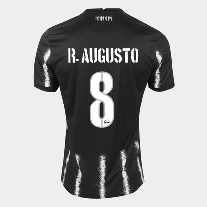 Camisa Corinthians II 21/22 R. Augusto Nº 8 Torcedor Nike Masculina