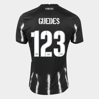 Camisa Corinthians II 21/22 Roger Guedes nº 123 Torcedor Nike Masculina