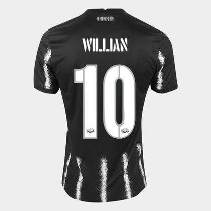 Camisa Corinthians II 21/22 Willian nº 10 Torcedor Nike Masculina