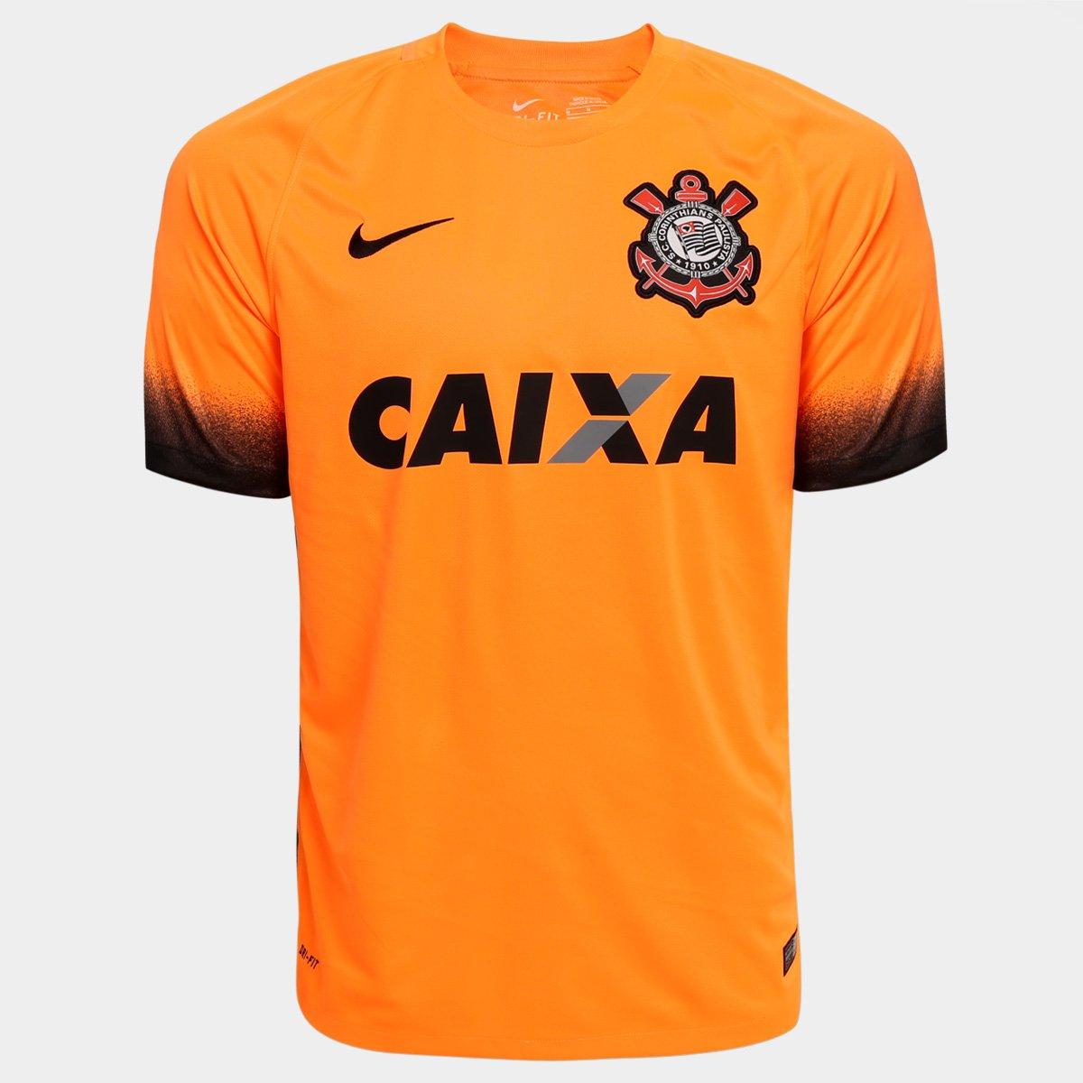 Camisa Corinthians III 15 16 s nº - Torcedor Nike Masculina - Compre ... ab2994243ba25