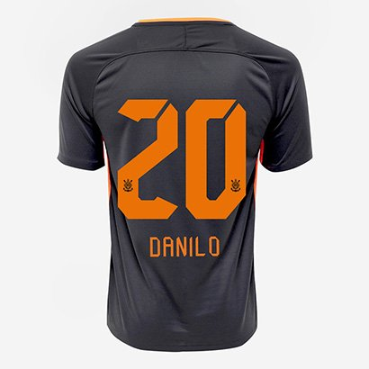 1dcb9e9e765e5 Camisa Corinthians III 17 18 nº 20 - Danilo Torcedor Nike Masculina -  Compre Agora
