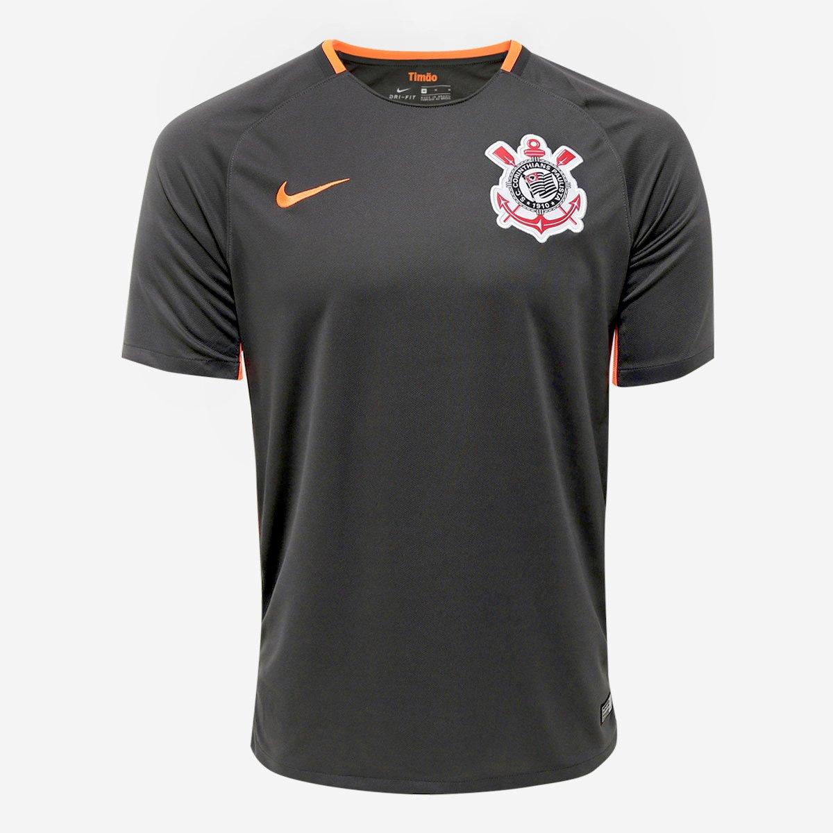 Camisa Corinthians III 17 18 s n° - Torcedor Nike Masculina 5666e3b4c5907