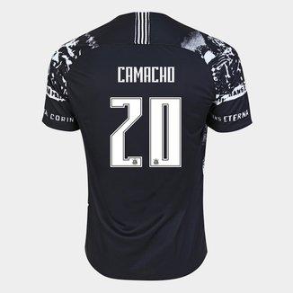Camisa Corinthians III 19/20 - Camacho Nº 20 - Torcedor Nike Masculina