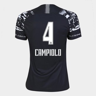 Camisa Corinthians III 19/20 -Campiolo N° 4 - Torcedor Nike Feminina