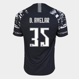 Camisa Corinthians III 19/20 D. Avelar  Nº  35 - Torcedor Nike Masculina