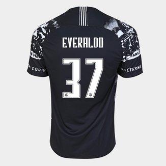 Camisa Corinthians III 19/20 Everaldo Nº  37 - Torcedor Nike Masculina