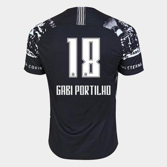 Camisa Corinthians III 19/20 - Gabi Portilho N° 18 - Torcedor Nike Masculina