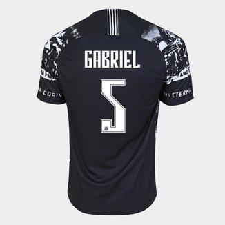 Camisa Corinthians III 19/20 Gabriel Nº 5 - Torcedor Nike Masculina