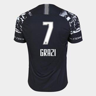 Camisa Corinthians III 19/20 - Grazi N° 7 - Torcedor Nike Masculina