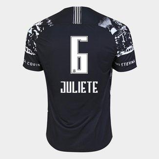 Camisa Corinthians III 19/20 - Juliete N° 6 - Torcedor Nike Masculina