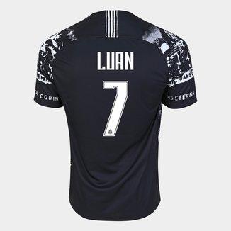 Camisa Corinthians III 19/20 Luan Nº 7 - Torcedo Nike Masculina