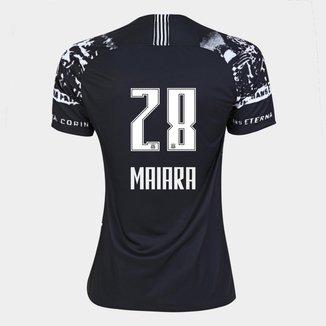 Camisa Corinthians III 19/20 - Maiara N° 28 - Torcedor Nike Feminina