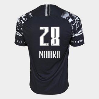 Camisa Corinthians III 19/20 - Maiara N° 28 - Torcedor  Nike Masculina