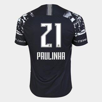 Camisa Corinthians III 19/20 - Paulinha N° 21 - Torcedor Nike Masculina