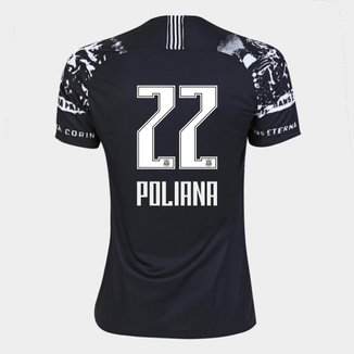 Camisa Corinthians III 19/20 - Poliana N° 22 - Torcedor Nike Feminina