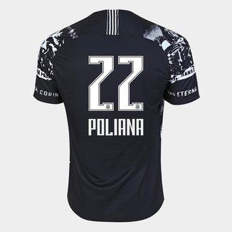 Camisa Corinthians III 19/20 - Poliana N° 22 - Torcedor Nike Masculina