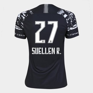 Camisa Corinthians III 19/20 - Suellen R. N° 27 - Torcedor Nike Feminina