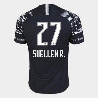 Camisa Corinthians III 19/20 - Suellen R. N° 27 - Torcedor Nike Masculina