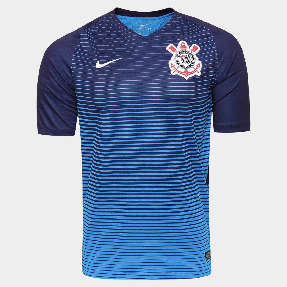 Camisa Corinthians III 2016 s nº Torcedor Nike Masculina - Compre ... 5313b30c3cb7c