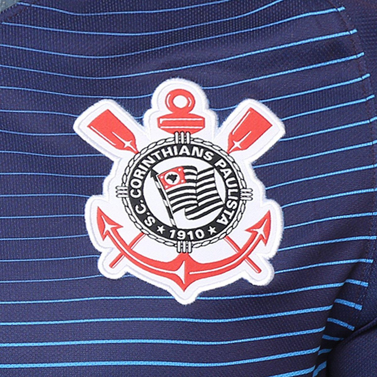 Camisa Corinthians III 2016 s nº Torcedor Nike Masculina - Compre ... 6558b987ff9dc