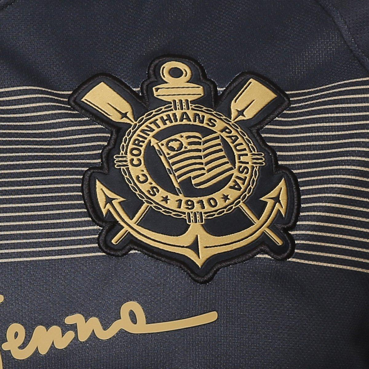 a6781544b9 Camisa Corinthians III 2018 s n° - Torcedor Nike Masculina - Preto e ...