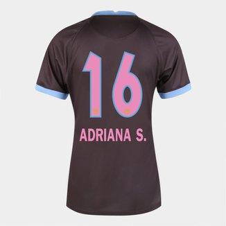 Camisa Corinthians III 20/21  Adriana S.  N° 16  Torcedor Nike Feminina
