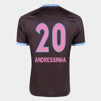 Camisa Corinthians III 20/21  Andressinha N° 20 Torcedor Nike Masculina