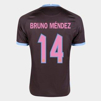 Camisa Corinthians III 20/21  Bruno Méndez Nº 14 Torcedor Nike Masculina