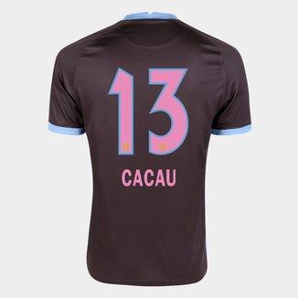 Camisa Corinthians III 20/21 Cacau N° 13 Torcedor Nike Masculina