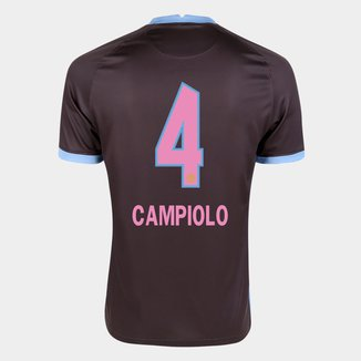 Camisa Corinthians III 20/21 Campiolo N° 4  Torcedor Nike Masculina